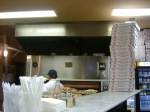 Pier 76 pizza counter