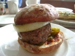 Beef and Lamb Burger.
